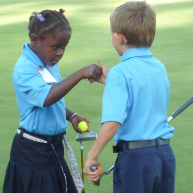 The First Tee of Oakland fundraising newsletter